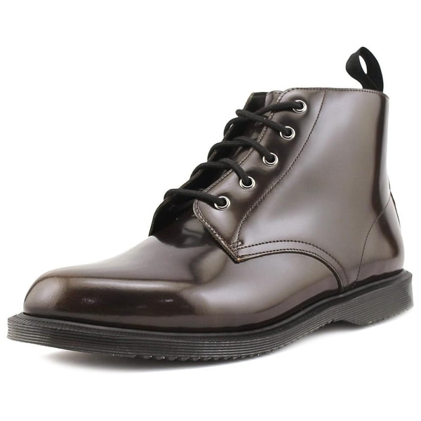 Dr. Martens Air Wair Emmeline Women Round Toe Leather Brown Ankle Boot