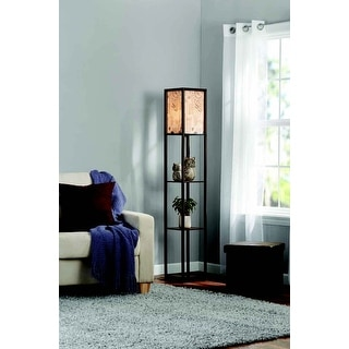 Link to Adesso Script Floor Lamp Shelf Similar Items in Floor Lamps