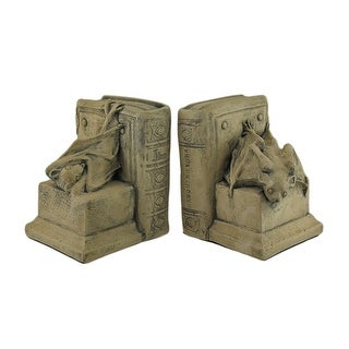 Cool Vampire Bat Medieval Bookends