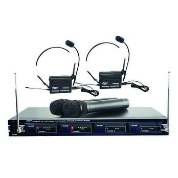 Pyle Pro Wireless 4 Mic System