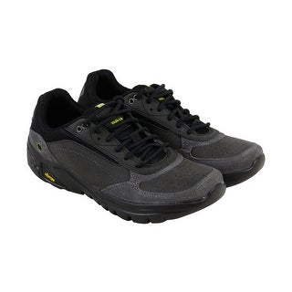 Hi-Tec V Lite Walk Lite Wallen Mens Gray Leather Athletic Training Shoes