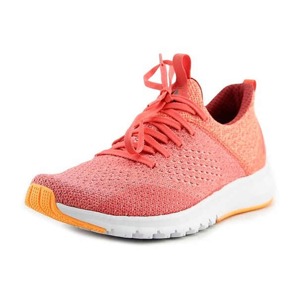 Reebok Print Premier ULTK Women Round Toe Canvas Pink Running Shoe