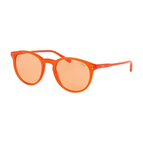 Polo PH4110 553974 50 Shiny Opaline Orange Man Phantos Sunglasses