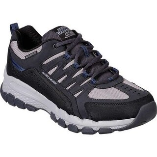 Skechers Men's Relaxed Fit Outland 2.0 Rip-Staver Trail Shoe Charcoal