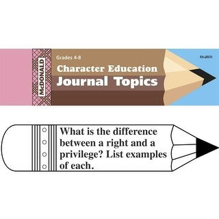 Journal Booklet Character Education