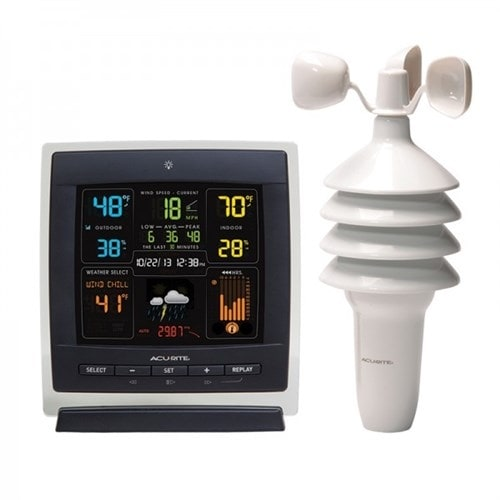 """""""AcuRite Pro Color Dark Theme Weather Station Weather Station"""""""