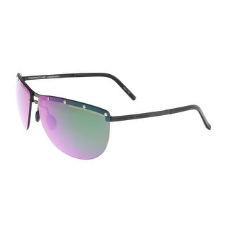 Porsche P8577-D Black Aviator Sunglasses - 68-12-135