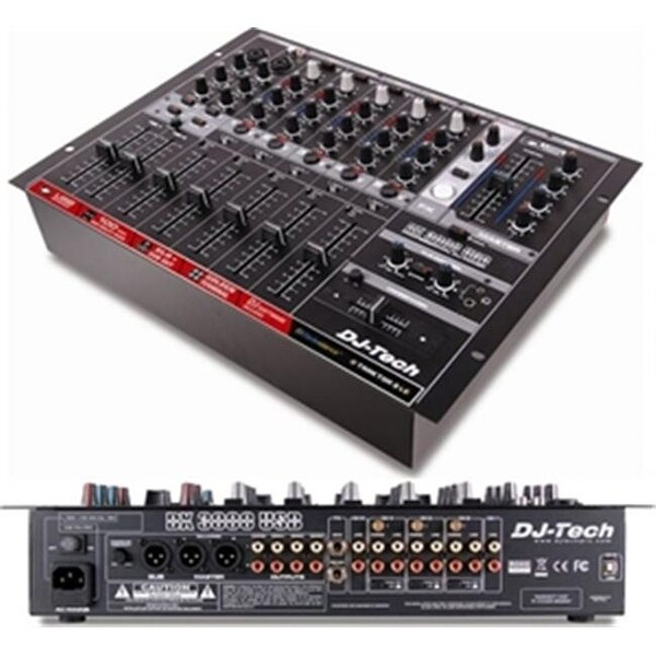 FIRST AUDIO MANUFACTURING DX3000USB Professional 7 Channel DJ Mixer