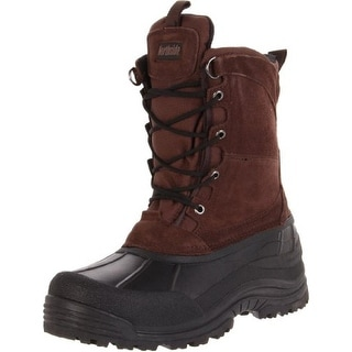 Northside Mens Everest Suede Insulated Winter Boots