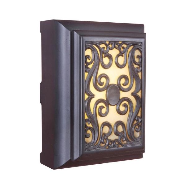 Shop Craftmade Ich1630 115 X 838 Rectangle Led Frame Scroll Door