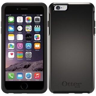 Otterbox Symmetry Series Hard Slim Case For iPhone 6 Plus 6S Plus Black
