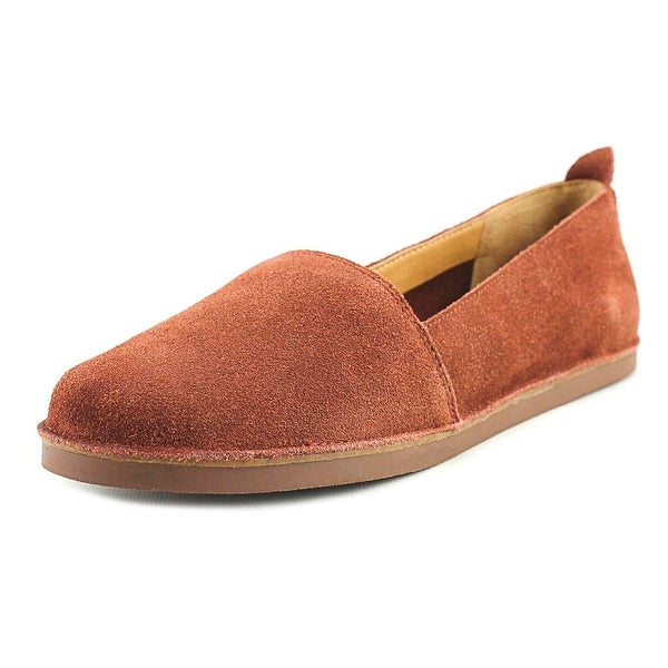 Latigo Twyla Women Round Toe Suede Brown Loafer