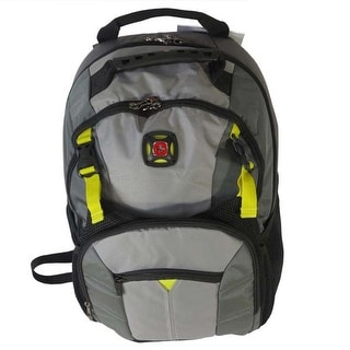 "SwissGear Sherpa 16"" Padded Steel Grey Laptop Backpack Case"