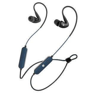 Audiofly AF100W Wireless Bluetooth In-Ear Headphones with Mic and Remote (Black)