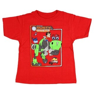 Rusty Rivets Little Boys' Retro Frame Graphic T-shirt