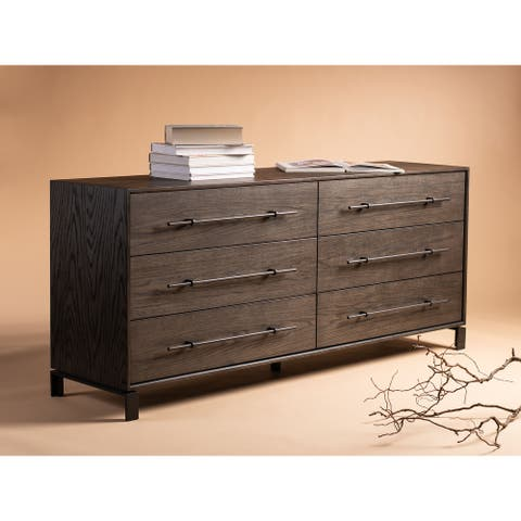 Safavieh Couture Simmons Modern 6-drawer Wood Dresser