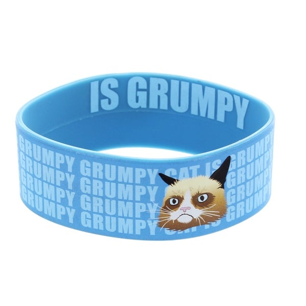 Grumpy Cat Is Grumpy Rubber Wristband - multi