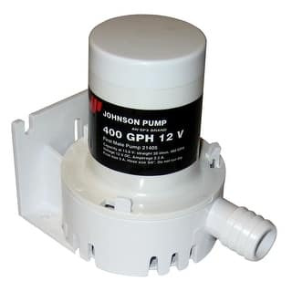 Johnson pump at overstock johnson pump 400 gph bilge pump 34 hose 12v 21405 publicscrutiny Image collections
