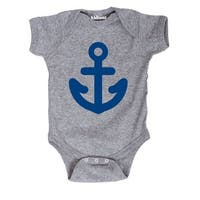 Anchor Sailor Cute Nautical Baby Nursery-Baby One Piece