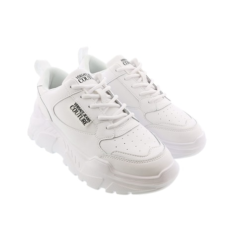Versace Jeans Couture White Logo Sneakers-