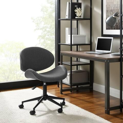 Madonna Mid-century Adjustable Office Chair by Corvus