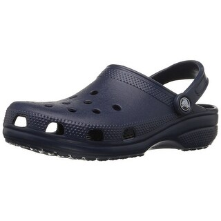 Crocs Womens Alligator Closed Toe Ankle Strap Mules
