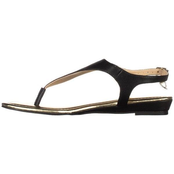 Thalia Sodi Womens Isaa Rubber Open Toe Casual Slingback Sandals