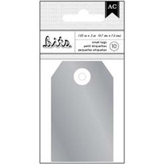 Shop Silver Foil American Crafts Cardstock Tags 185x3 10pkg