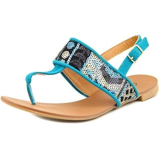 Qupid Alanis-20 Open-Toe Synthetic Slingback Sandal