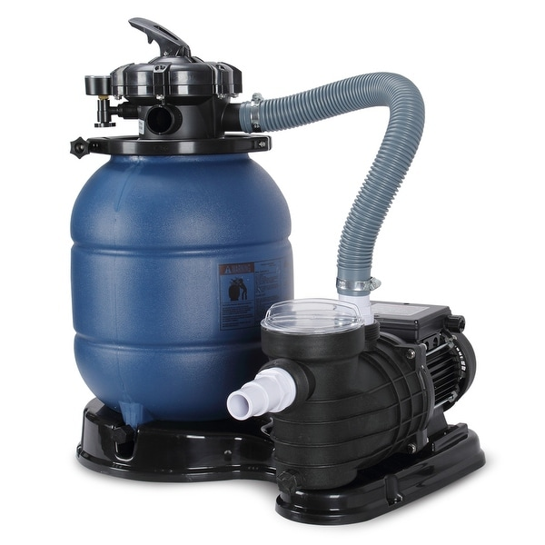 "Free Standing Above Ground Swimming Pools: Shop ARKSEN 1/2HP Above Ground Swimming Pool Pump 13"" Sand"