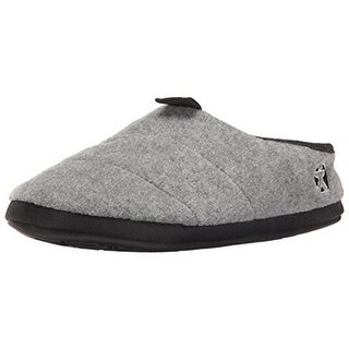 Bedroom Athletics Mens Travolta Textured Lined Slip-On Slippers