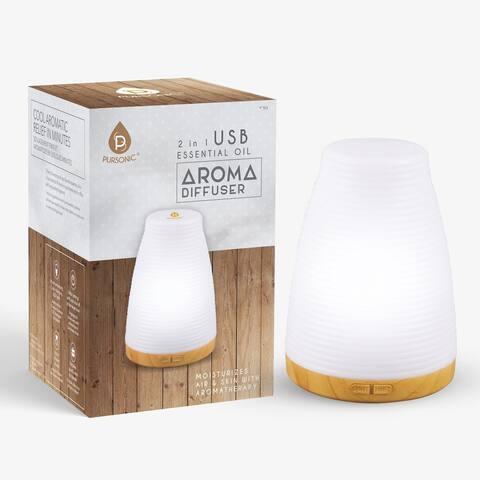 Pursonic 2 in 1 USB Aroma diffuser / Humidifier