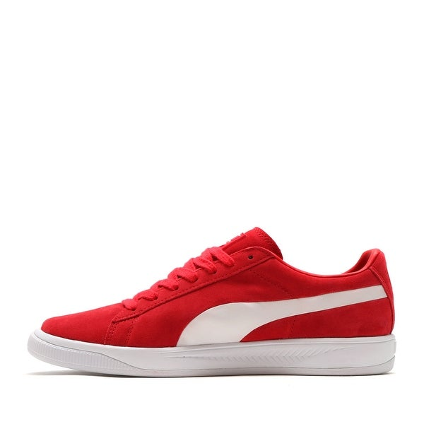 Shop PUMA Mens Suede Ignite Suede Low Top Lace Up Fashion Sneakers ... 65b5cb8e8