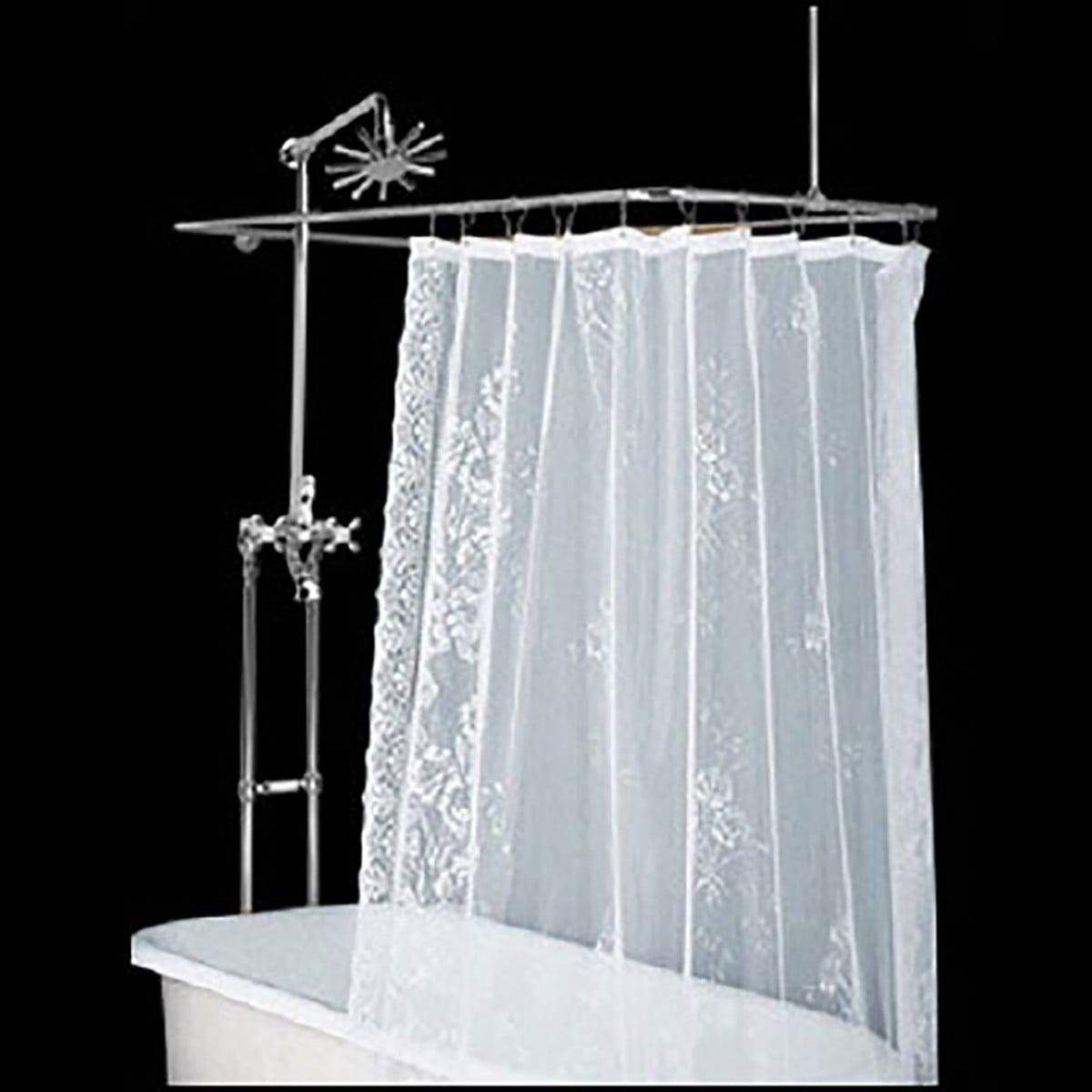 Clawfoot Tub Freestanding Shower Set Rectangular Enclosure Renovator S Supply