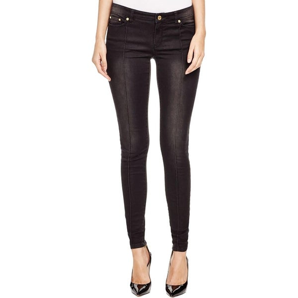 MICHAEL Michael Kors Womens Skinny Jeans Zip Ankle Stretch