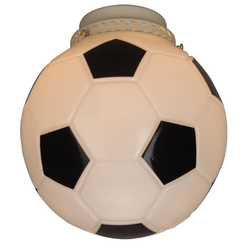 Craftmade 406 Soccer Ball Glass Shade for Craftmade Ceiling Fans