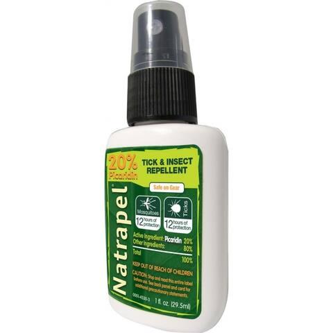 Natrapel 0006-6850 Deet Free Tick & Insect Repellent Pump Spray, 1 Oz