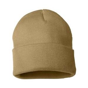 Shop Sportsman 12 Inch Knit Beanie - Camel - One Size - Free ... 3a81c4b98014