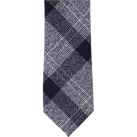 bar III Mens Tammenga Self-tied Necktie, blue, One Size - One Size