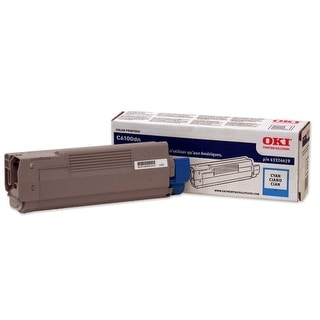 OKI Toner Cartridge - Cyan 43324419 Oki Type C8 Cyan Toner Cartridge - Cyan - LED - 5000 Page - 1 Each