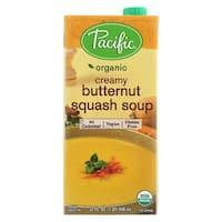 Pacific Natural Foods Organic Creamy - Butternut Squash - Case of 12 - 32 Fl oz.