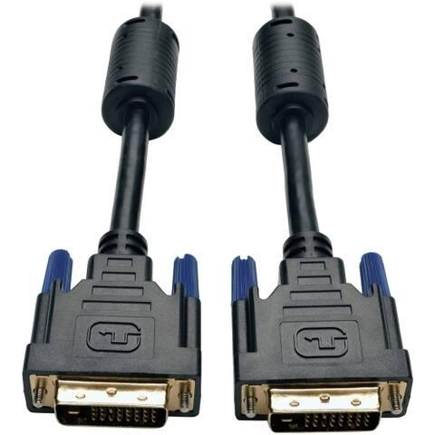 Tripp Lite P560-100 Tripp Lite DVI Dual Link Cable, Digital TMDS Monitor Cable - (DVI-D M/M) 100-ft.