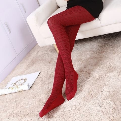 Women Sexy Stretchy Cototn Leggings Stockings Tight Pencil Skinny Pants Autumnwinter Warm Trousers