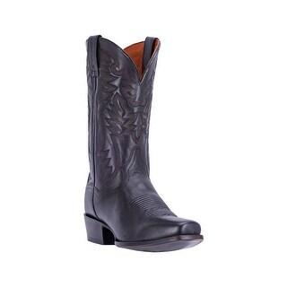 Dan Post Western Boots Mens Leather Flex Insole Black DP2160