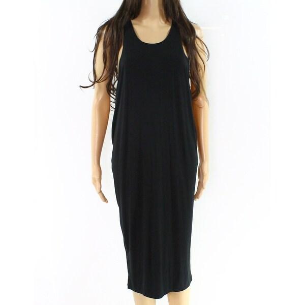8e88edc0b37a3 Victoria's Secret Black Women Size Small S Stretch Cover-Up Swimwear