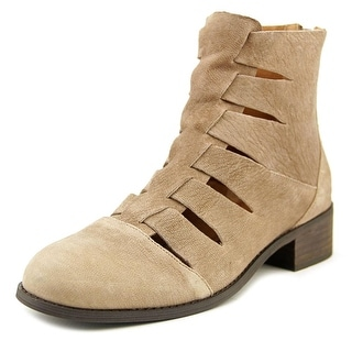Nina Joyce Women Round Toe Suede Brown Ankle Boot