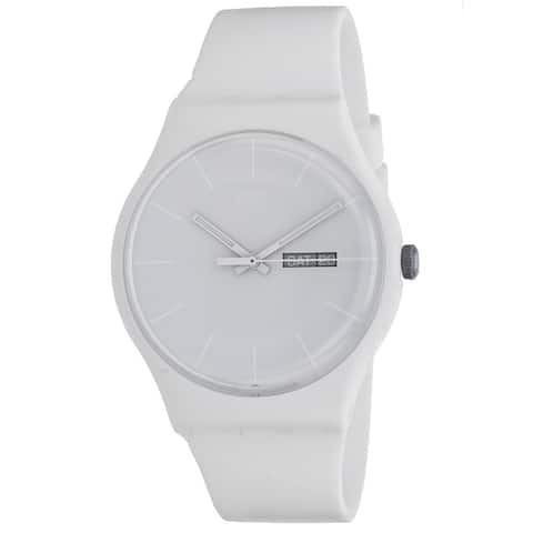 Swatch Men's Rebel White dial watch - SUOW701 - One Size
