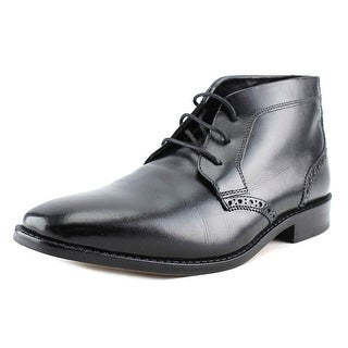 Florsheim Castellano Men 3E Round Toe Leather Black Chukka Boot