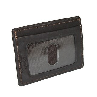 DOPP Men's Leather Money Clip and Card Holder Wallet - One size (2 options available)