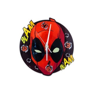 Deadpool Face Wall Clock